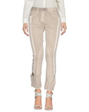 Повседневные брюки DANIELA DALLA VALLE ELISA CAVALETTI. Цвет: светло-серый