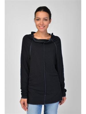 Туника Maria Velada. Цвет: черный, серый меланж