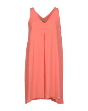 Короткое платье TUA NUA. Цвет: лососево-розовый