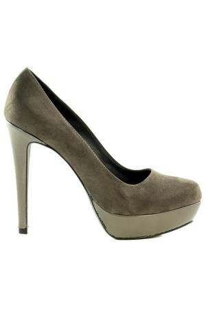 Туфли NILA. Цвет: коричневый