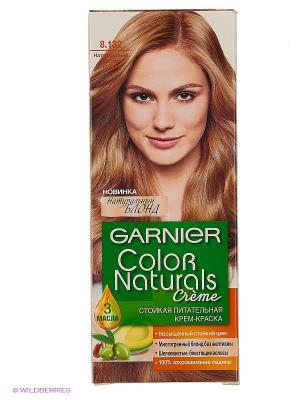 Стойкая питательная крем-краска для волос Color Naturals, оттенок 8.132, Натурсветло-русый Garnier. Цвет: желтый