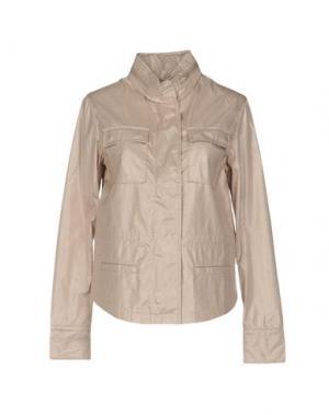 Легкое пальто BRUNO MANETTI. Цвет: песочный