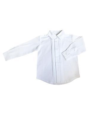 Рубашка Fleole. Цвет: белый