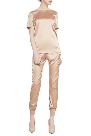 Костюм: блуза и брюки Nothing but Love. Цвет: светло-коричнево-желтый