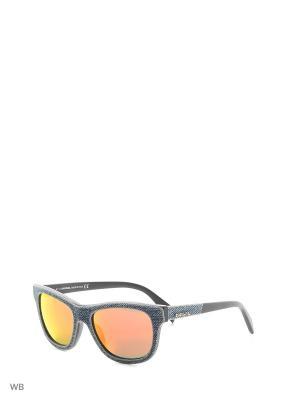 Солнцезащитные очки DL 0111 90U Diesel. Цвет: серый, коричневый, голубой