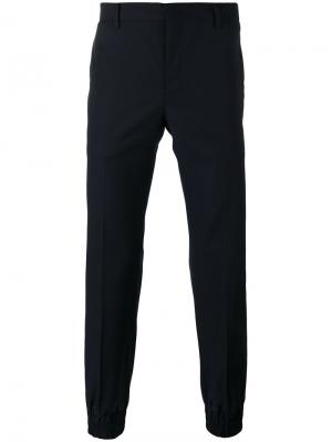 Костюмные брюки Wooyoungmi. Цвет: синий