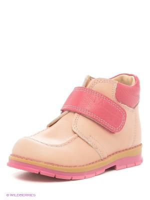 Ботинки ТАШИ ОРТО. Цвет: персиковый