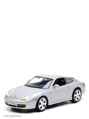 Машинка PORSCHE 911 CARRERA Bburago. Цвет: серый