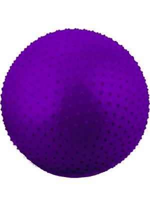 Мяч гимнастический массажный STARFIT GB-301 55 см, фиолетовый (антивзрыв) 1/10. Цвет: фиолетовый