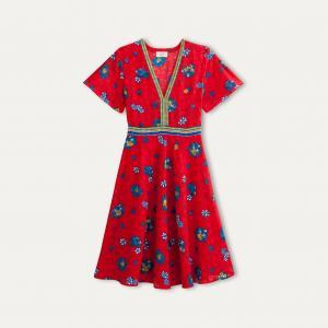 Платье PRUNE BA&SH. Цвет: красный