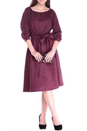 Платье Laura Bettini. Цвет: сливовый
