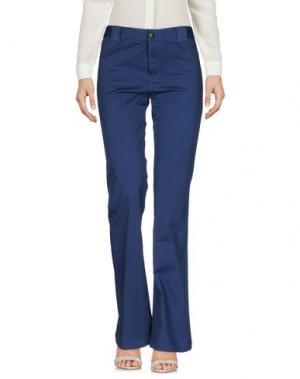 Повседневные брюки VIRNA DRÒ®. Цвет: синий