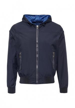 Куртка утепленная Occhibelli. Цвет: синий