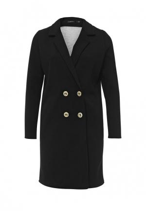 Пальто Chic. Цвет: черный