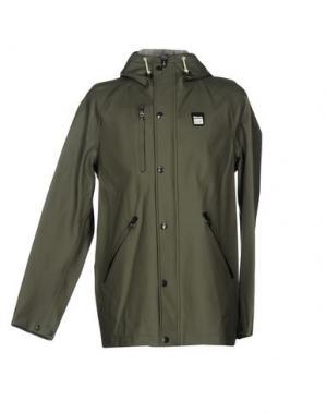 Легкое пальто BLAUER. Цвет: зеленый-милитари
