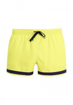 Шорты для плавания United Colors of Benetton. Цвет: желтый