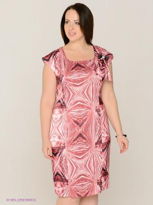 Платье MAFUERTA. Цвет: розовый