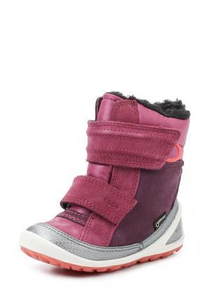 Ботинки BIOM LITE INFANTS BOOT ECCO. Цвет: фиолетовый