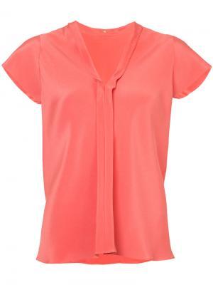 V-neck blouse Peter Cohen. Цвет: жёлтый и оранжевый