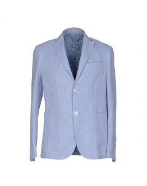 Пиджак HARRY & SONS. Цвет: лазурный