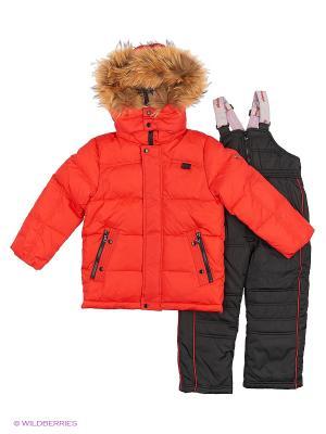 Комплект одежды SNOWIMAGE. Цвет: красный