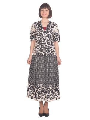 Жакет Томилочка Мода ТМ. Цвет: черный, белый