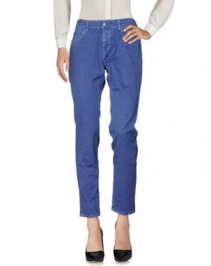 Повседневные брюки NOTIFY. Цвет: синий