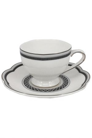 Набор кофейных пар 6 шт. Tognana. Цвет: белый