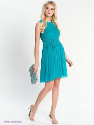 Платье EASY WEAR. Цвет: бирюзовый
