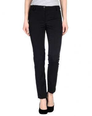 Повседневные брюки NVL__NUVOLA. Цвет: черный