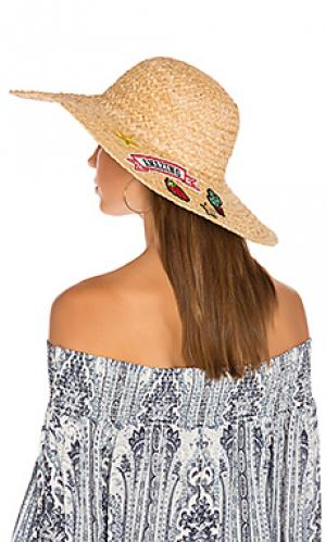 Patch sunhat Hat Attack. Цвет: цвет загара