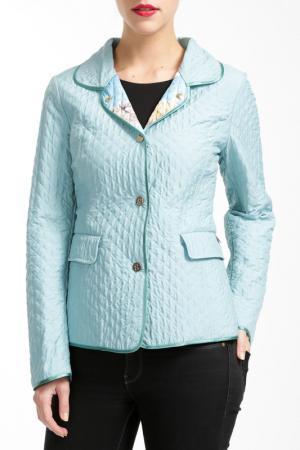 Куртка Salco. Цвет: голубой