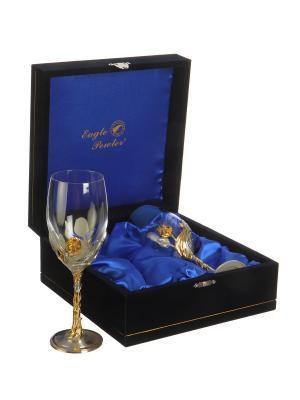 Набор бокалов для коньяка Оливки Eagle Pewter. Цвет: золотистый, серебристый