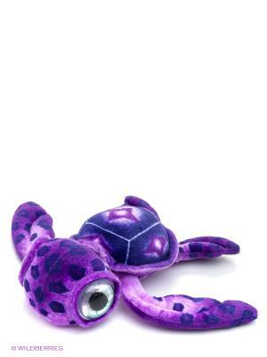 Мягкая игрушка Черепаха большеглазая средняя, 40 АБВГДЕЙКА. Цвет: сиреневый