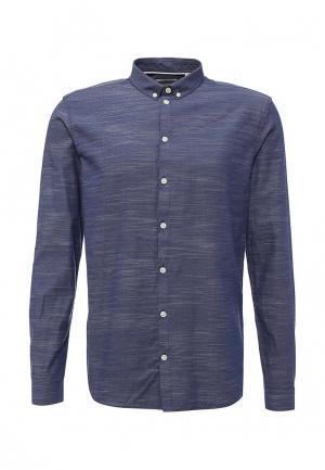 Рубашка Minimum. Цвет: синий