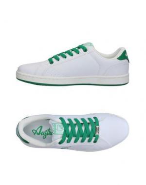 Низкие кеды и кроссовки AUSTRALIAN. Цвет: белый