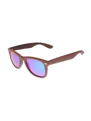 Солнцезащитные очки Gusachi. Цвет: коричневый, зеленый, синий