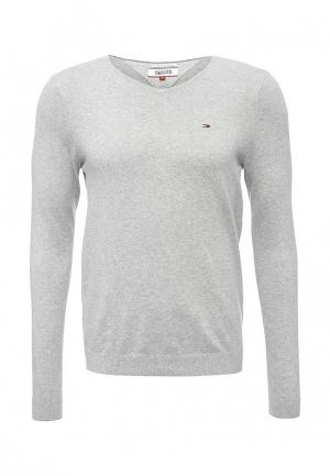 Пуловер Tommy Hilfiger Denim. Цвет: серый