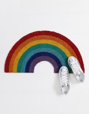 Sunnylife Дверной коврик в виде радуги. Цвет: мульти