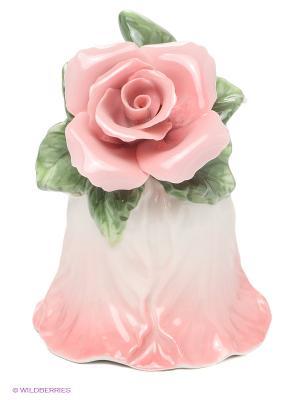 Колокольчик Райский цветок 11см (Pavone) Pavone. Цвет: розовый, зеленый