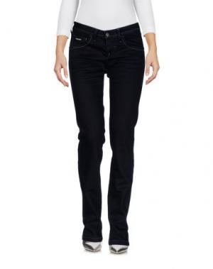 Джинсовые брюки DEK'HER. Цвет: темно-синий