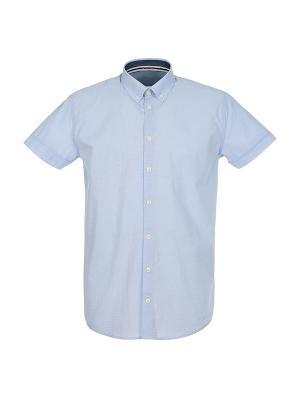 Рубашка Pre End (Дания) 34-100195. Цвет: голубой