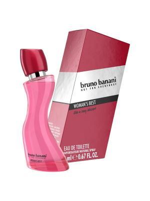 Bruno Banani Womans Best Туалетная вода 20 мл. Цвет: прозрачный