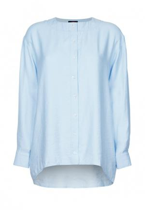 Рубашка Mayamoda. Цвет: голубой
