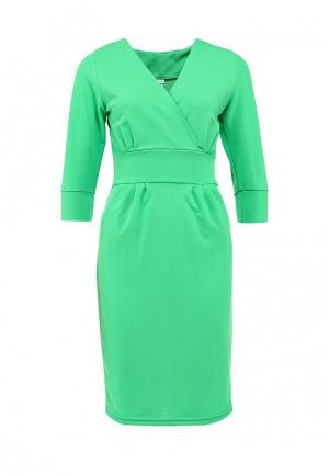 Платье Be In. Цвет: зеленый