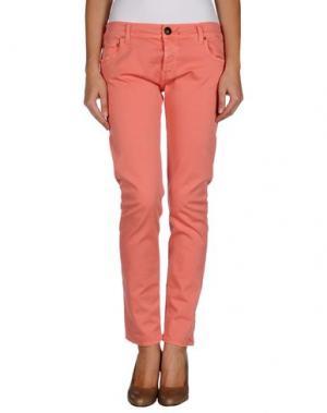 Повседневные брюки SHIELD. Цвет: лососево-розовый
