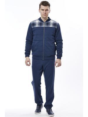 Спортивный костюм RELAX MODE. Цвет: голубой