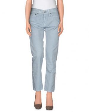 Повседневные брюки ROŸ ROGER'S. Цвет: небесно-голубой