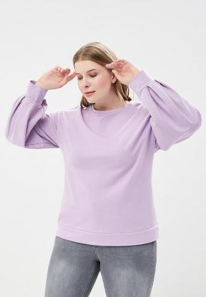 Свитшот Violeta by Mango. Цвет: фиолетовый