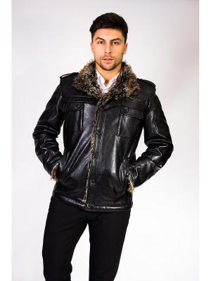 Куртка Berloga. Цвет: черный